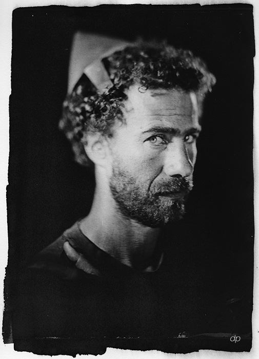 portrait - collodion - cyanotype - david